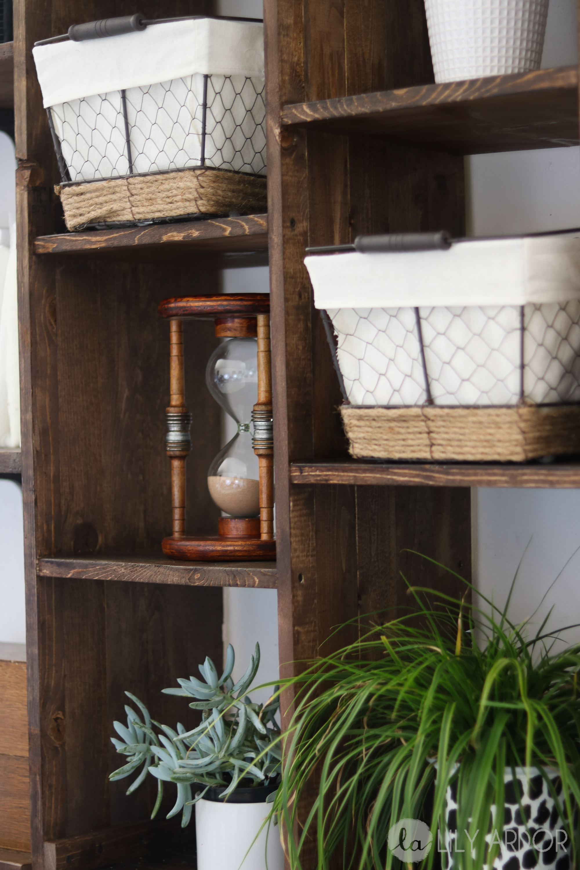 how to make a built in shelf