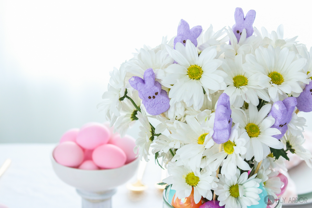 Dollar Store Easter Centerpiece