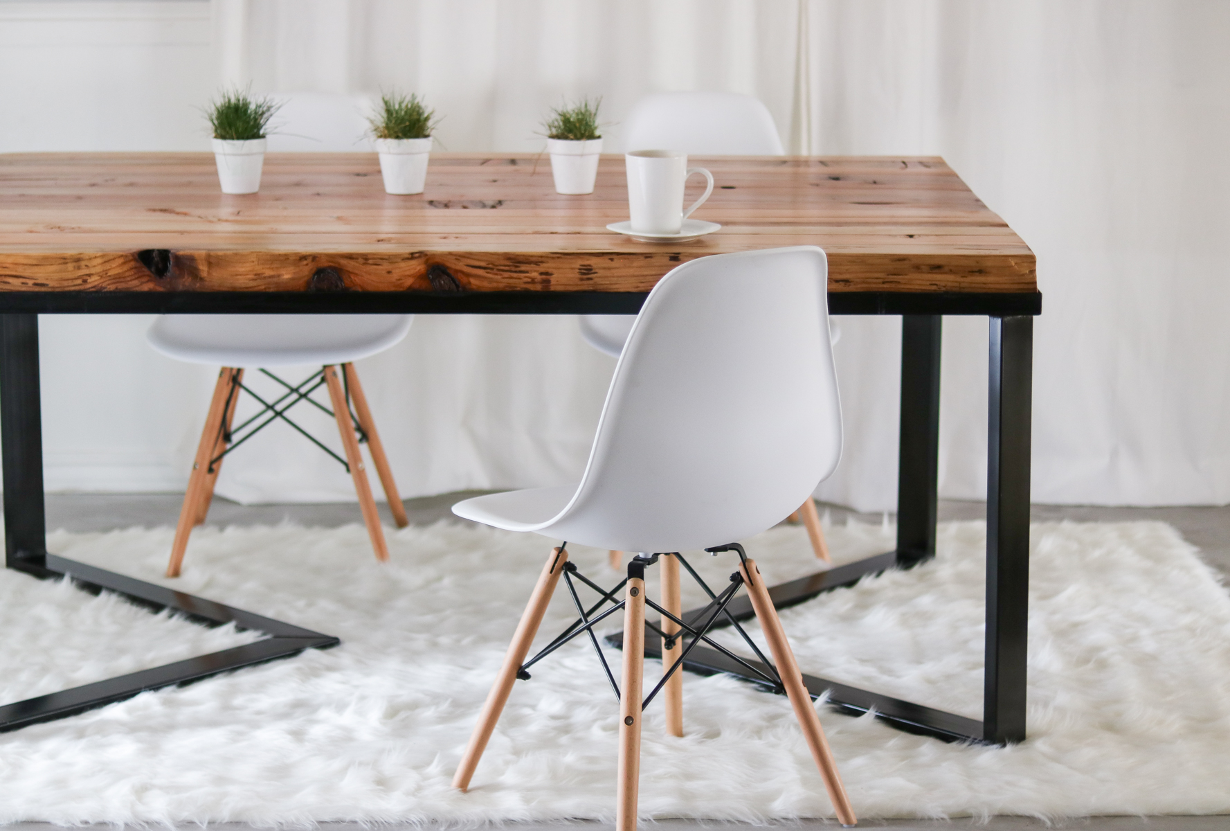 quality design 20f27 3b852 HOW I MADE MY DINING TABLE - UNDER $60- DIY Table - Scandinavian