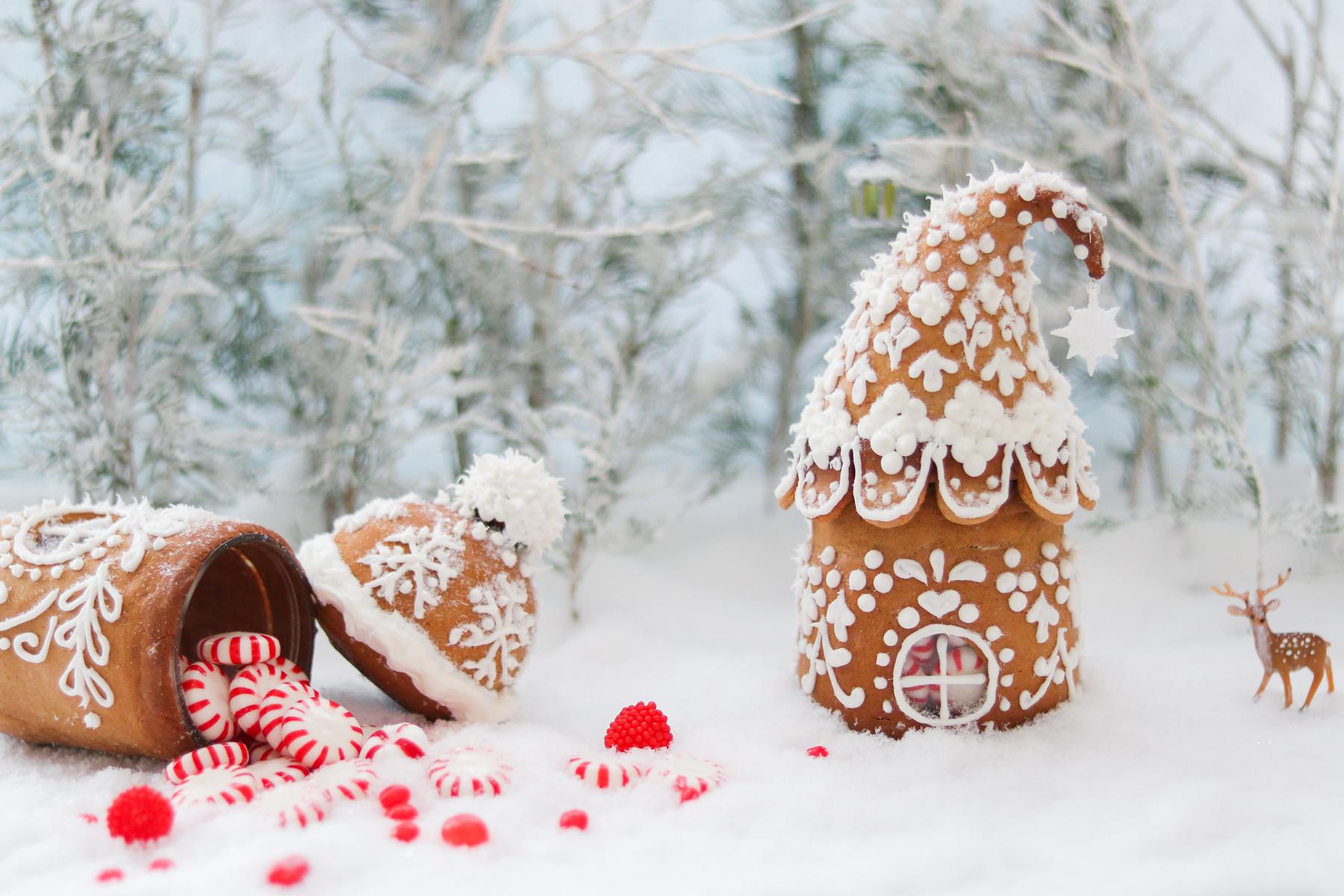Mini Gingerbread House Diy Lilyardor