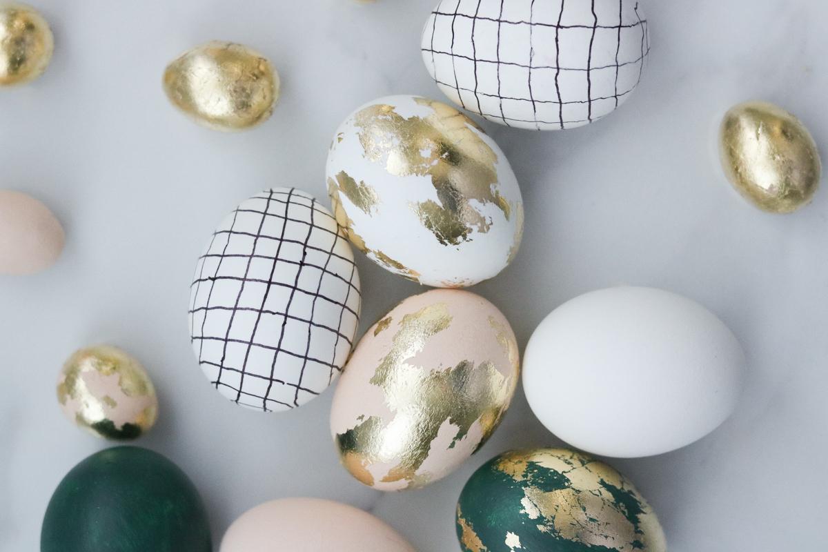 Mini Easter Eggs + Creative Ways to Decorate