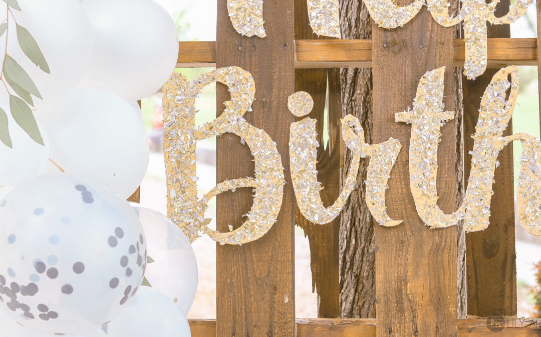 Happy Birthday Sign | From Dollar Store Foam board