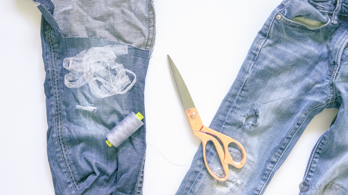 How To Fix Ripped Jeans 5 Easy Steps Photo Video