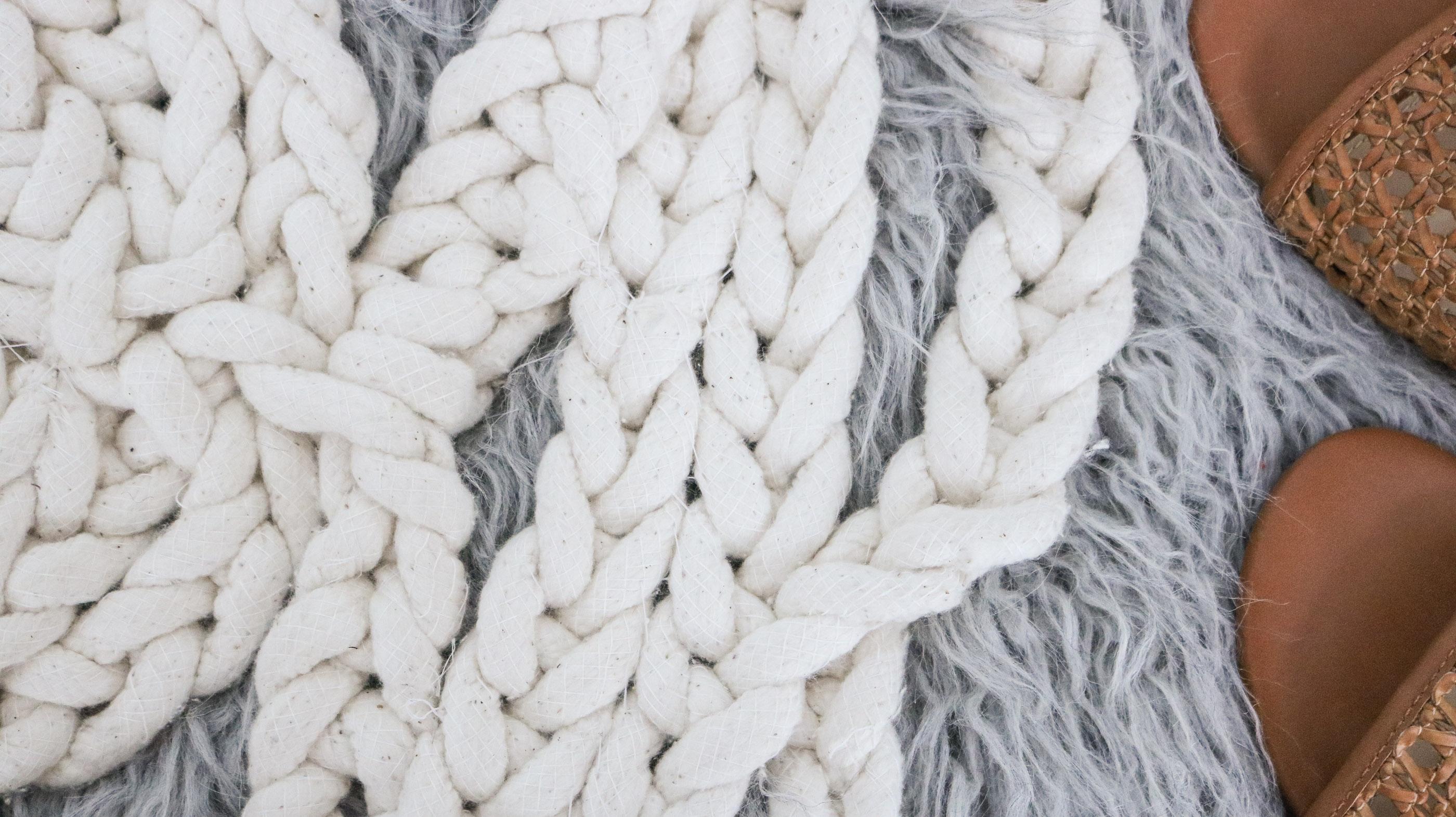 DIY Macrame Rope Rug - Giant Doily! No