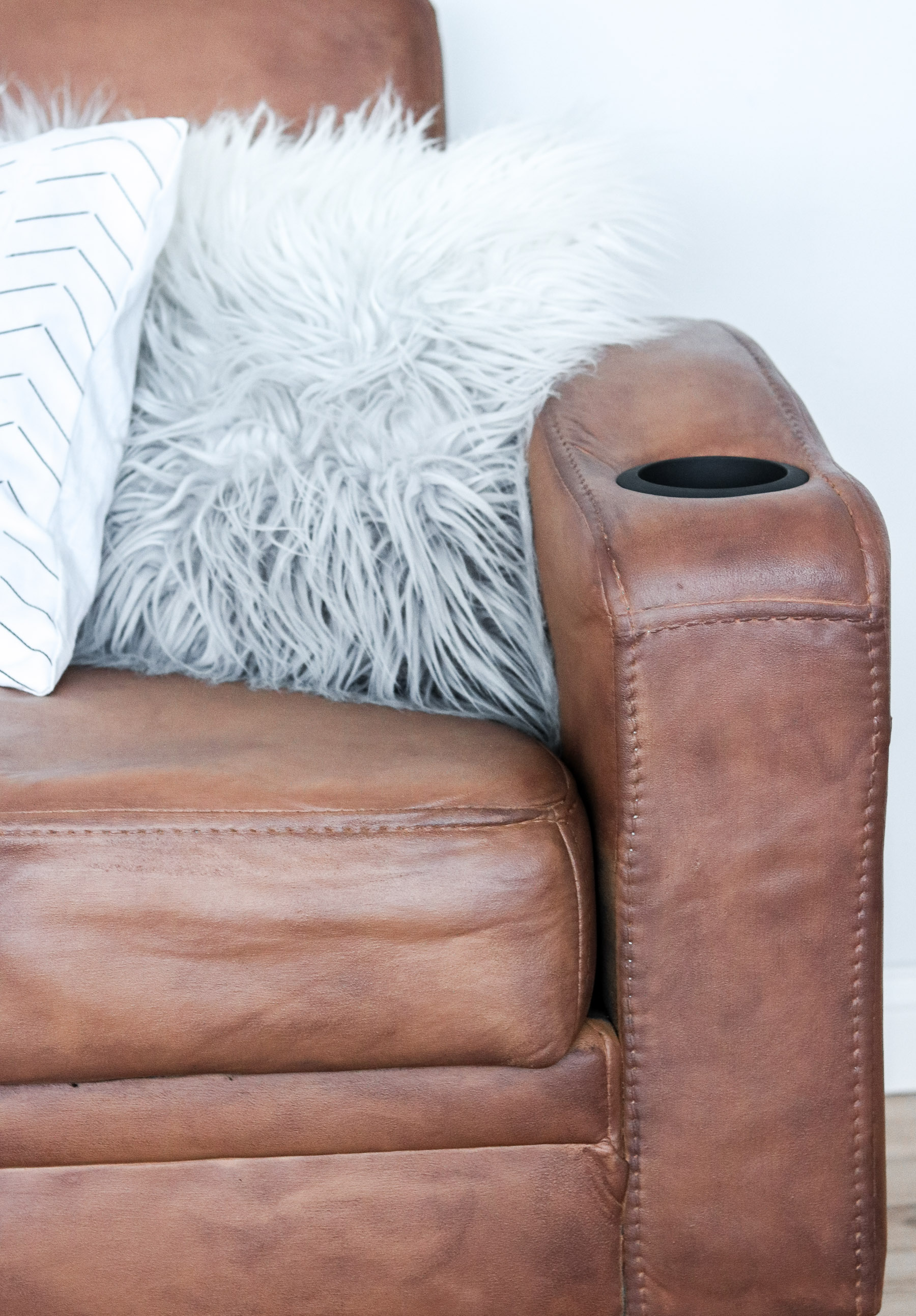 leather couch tutorial