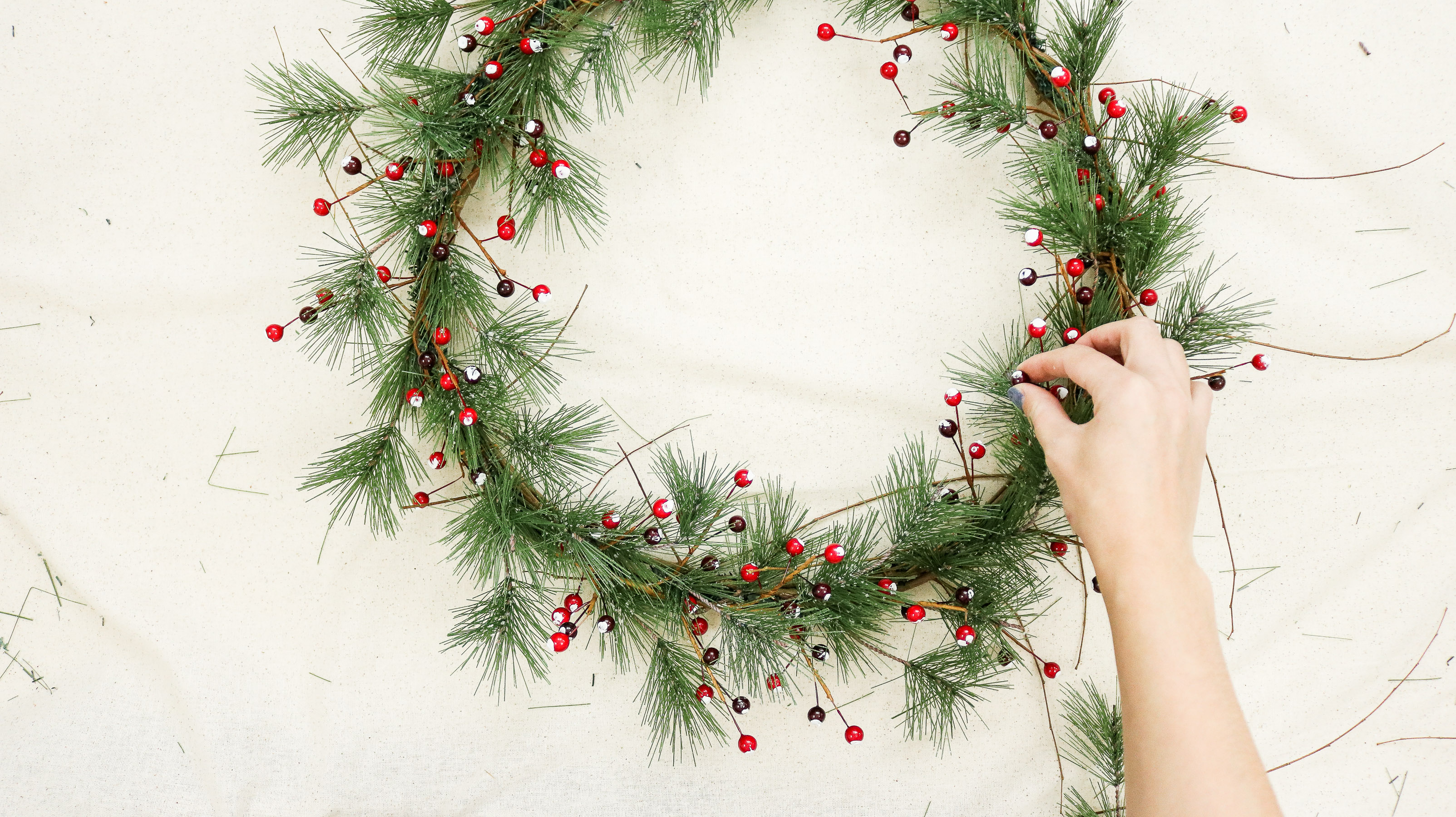 Christmas home decor DIY