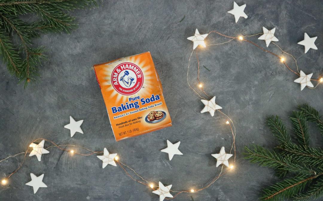 Star Garland + Easy Homemade Air Clay Recipe