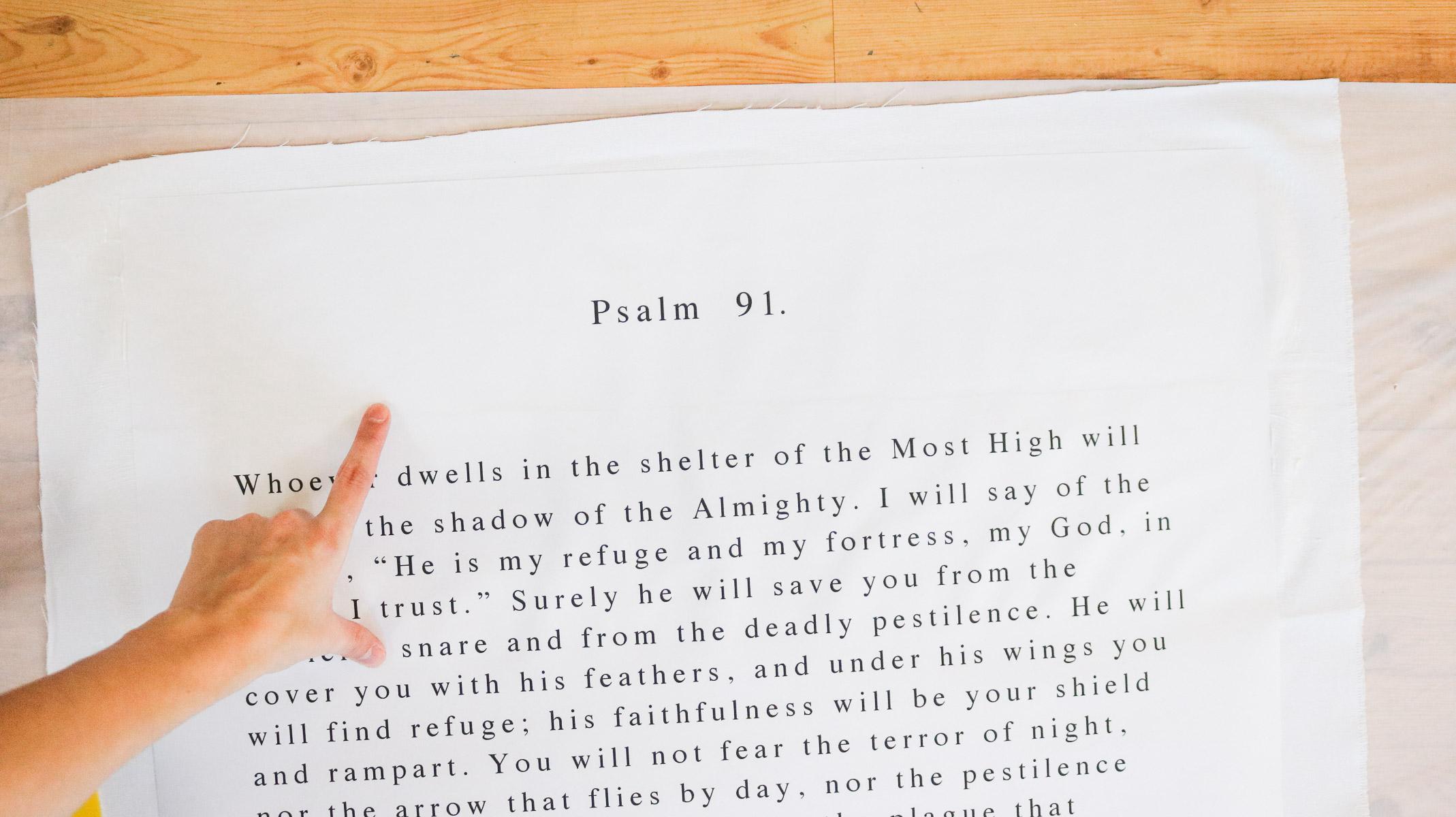 easy bible verse gift idea