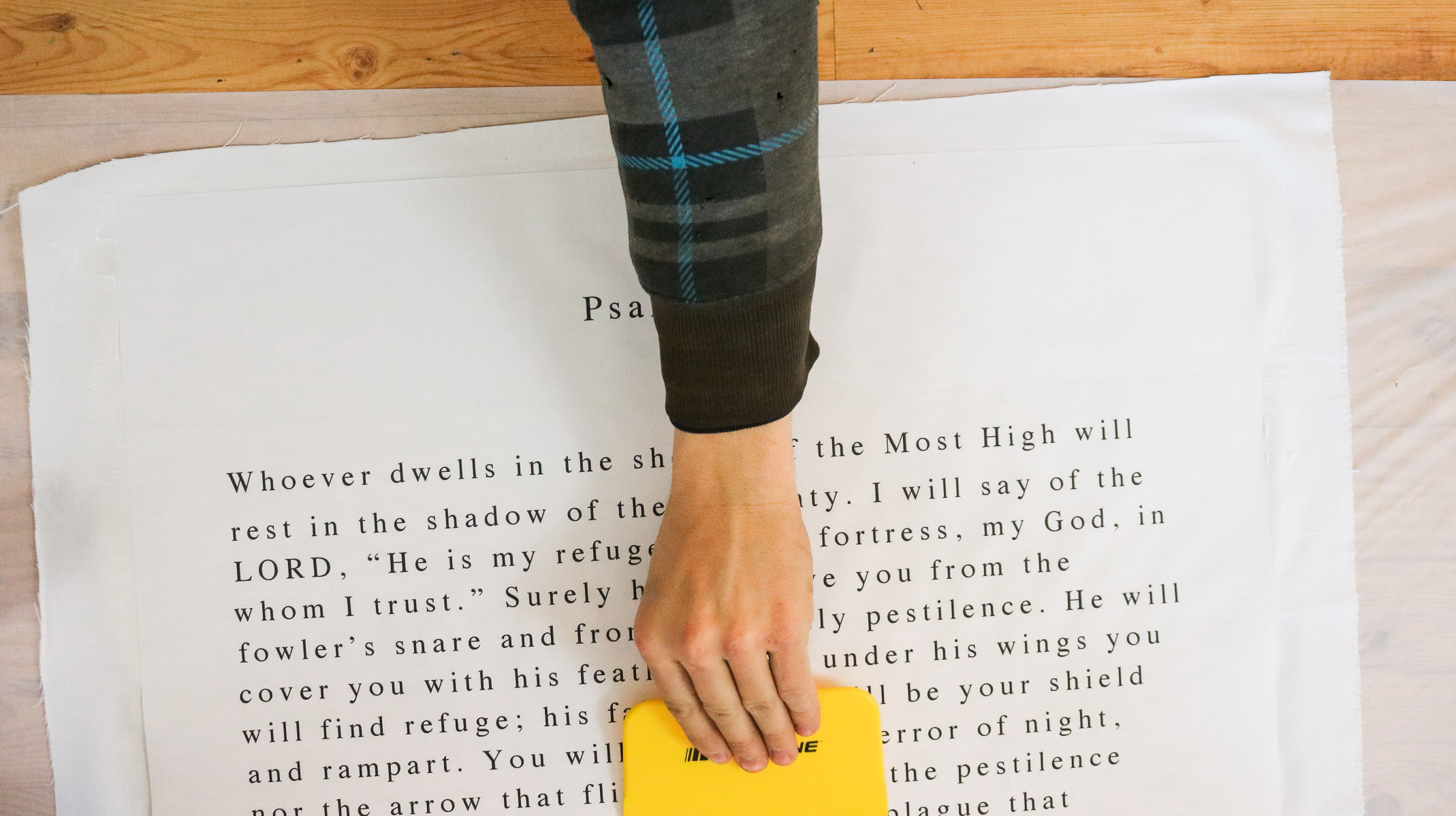 diy bible verse gift idea