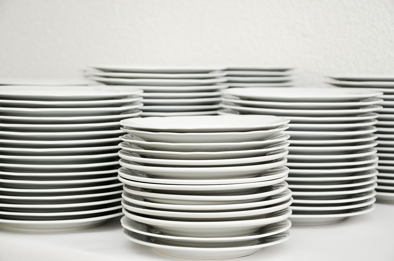 orgaize dishes