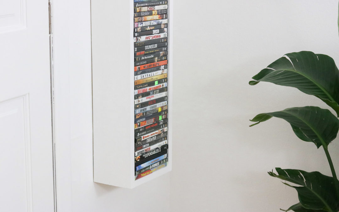 DIY Media Shelf In 20 minutes