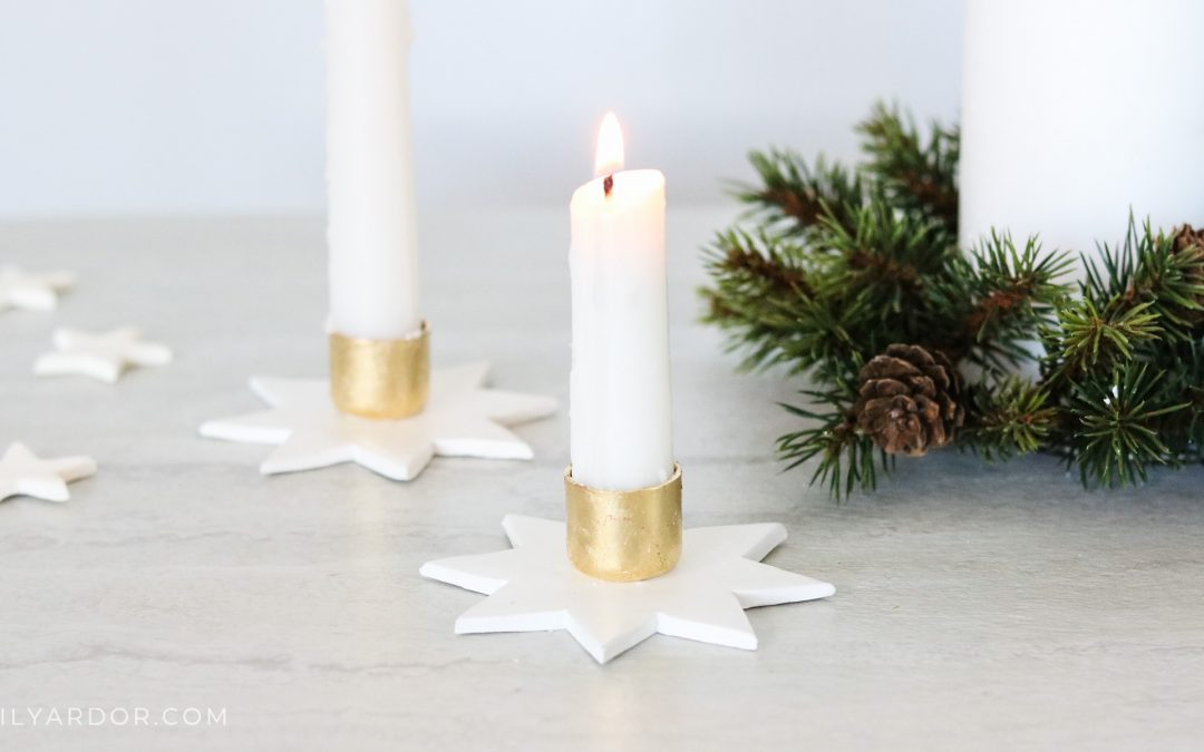 DIY Star Candle Holders