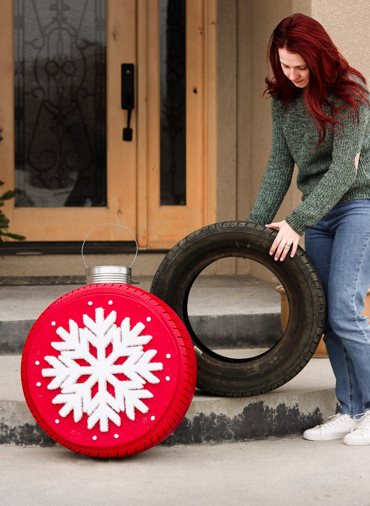 christmas tire