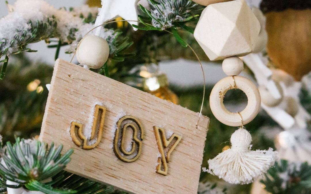 DIY Wood Ornaments 4 ways
