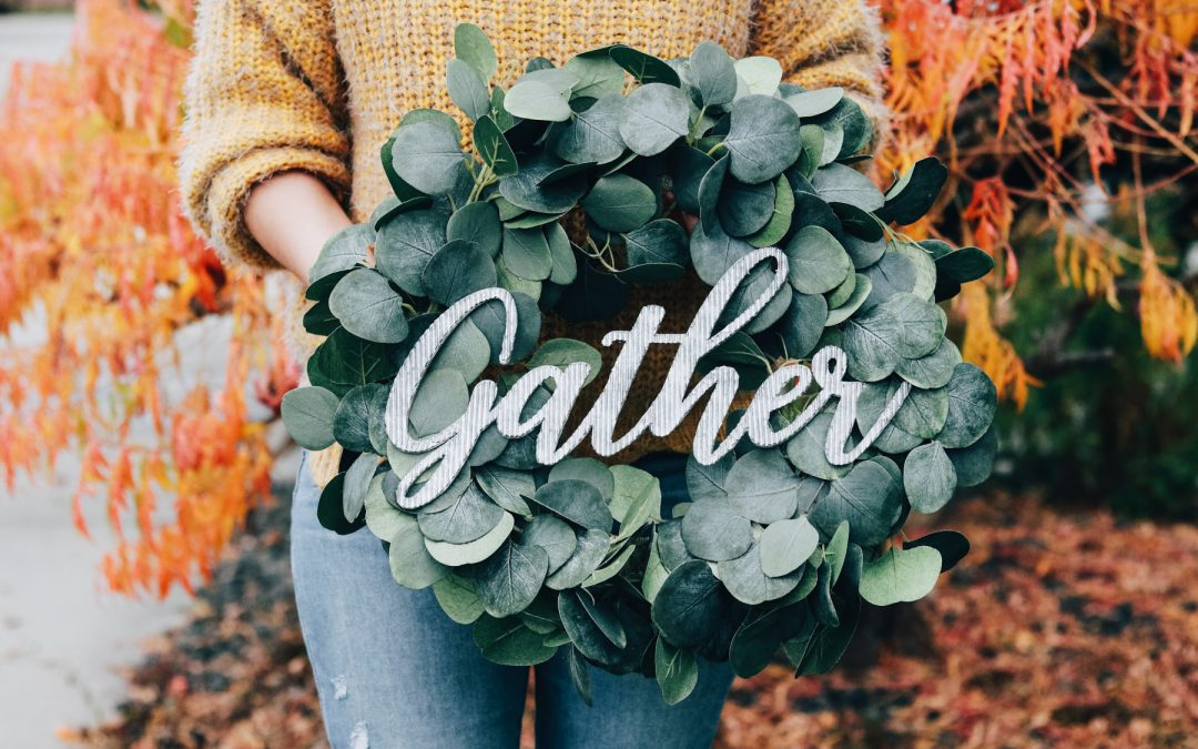Eucalyptus Gather Wreath Tutorial