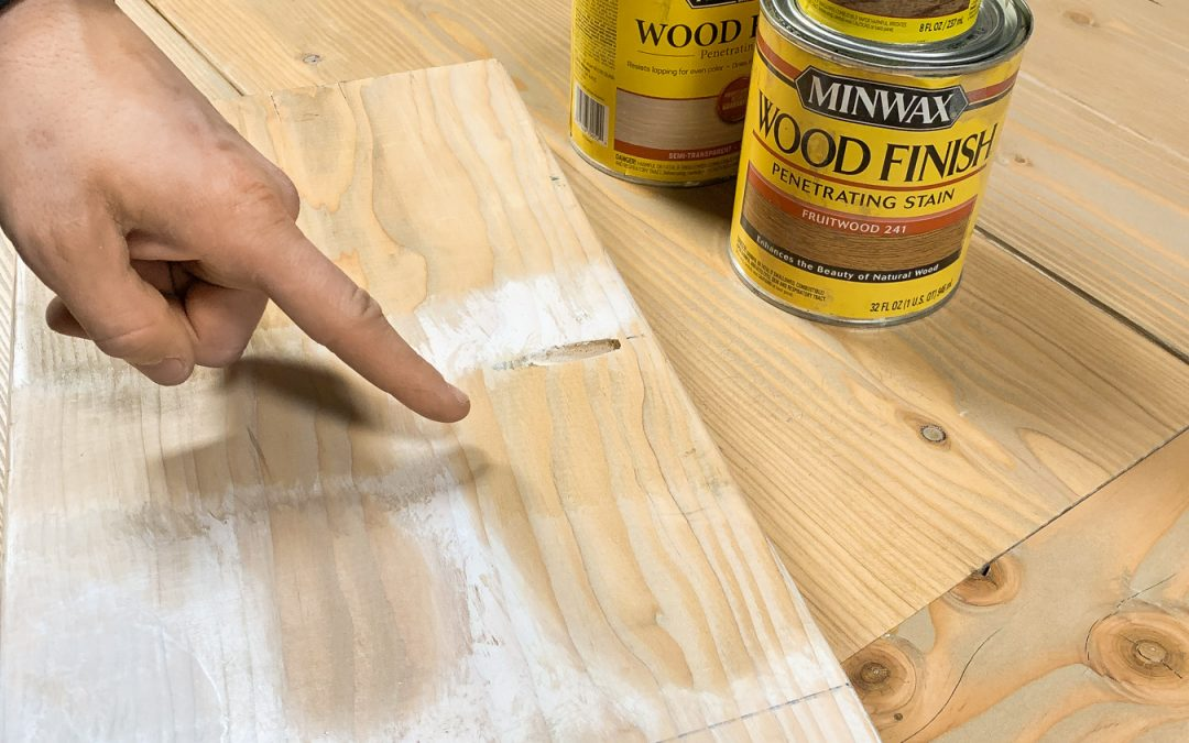 Best Wood Stain For Pine | Douglas Fir !