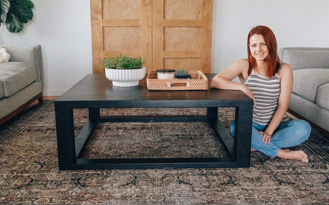 DIY Coffee Table With 2×4's